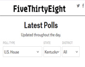Link To 538 Kentucky Second District Poll